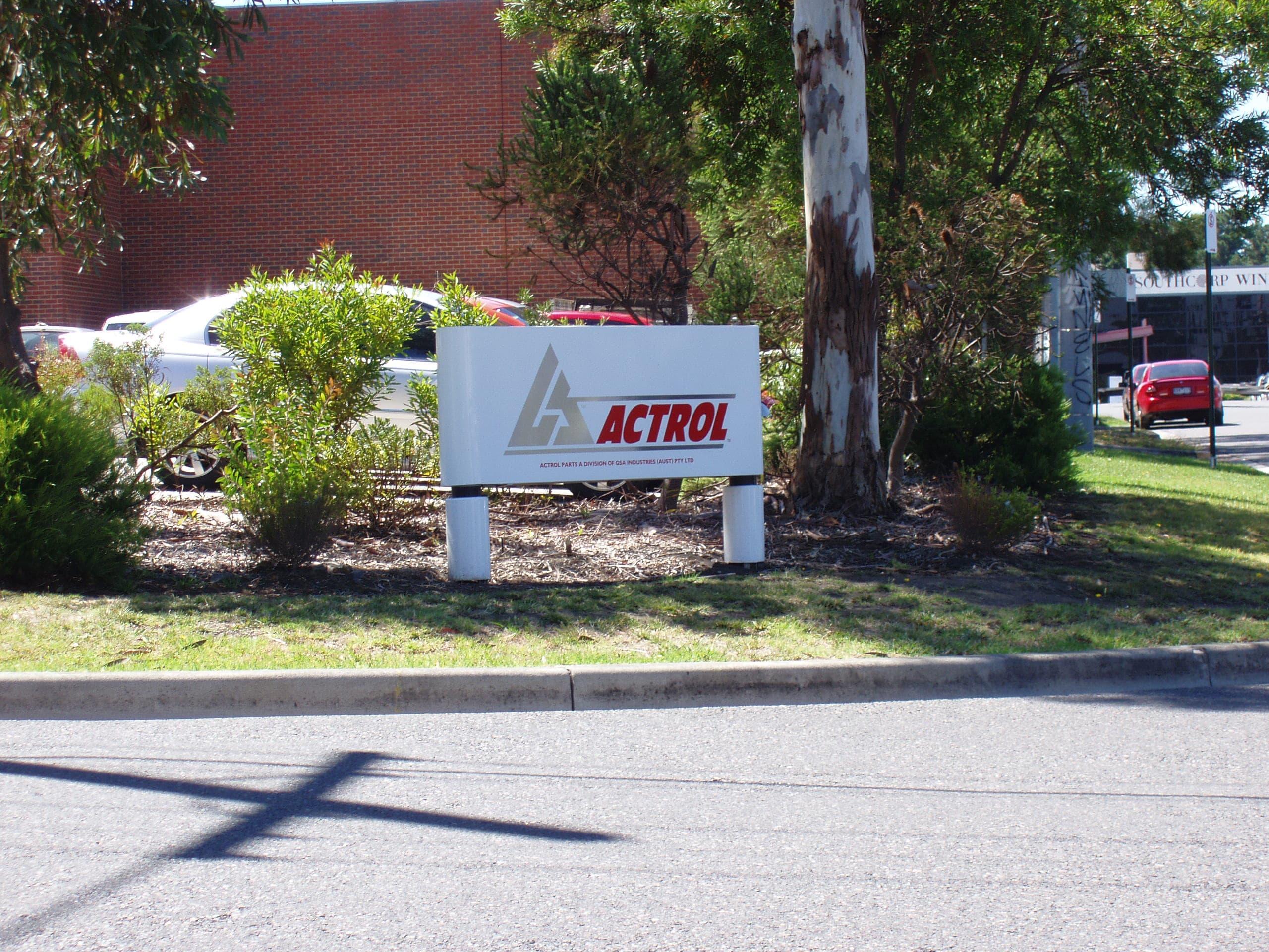 actrol garden signs