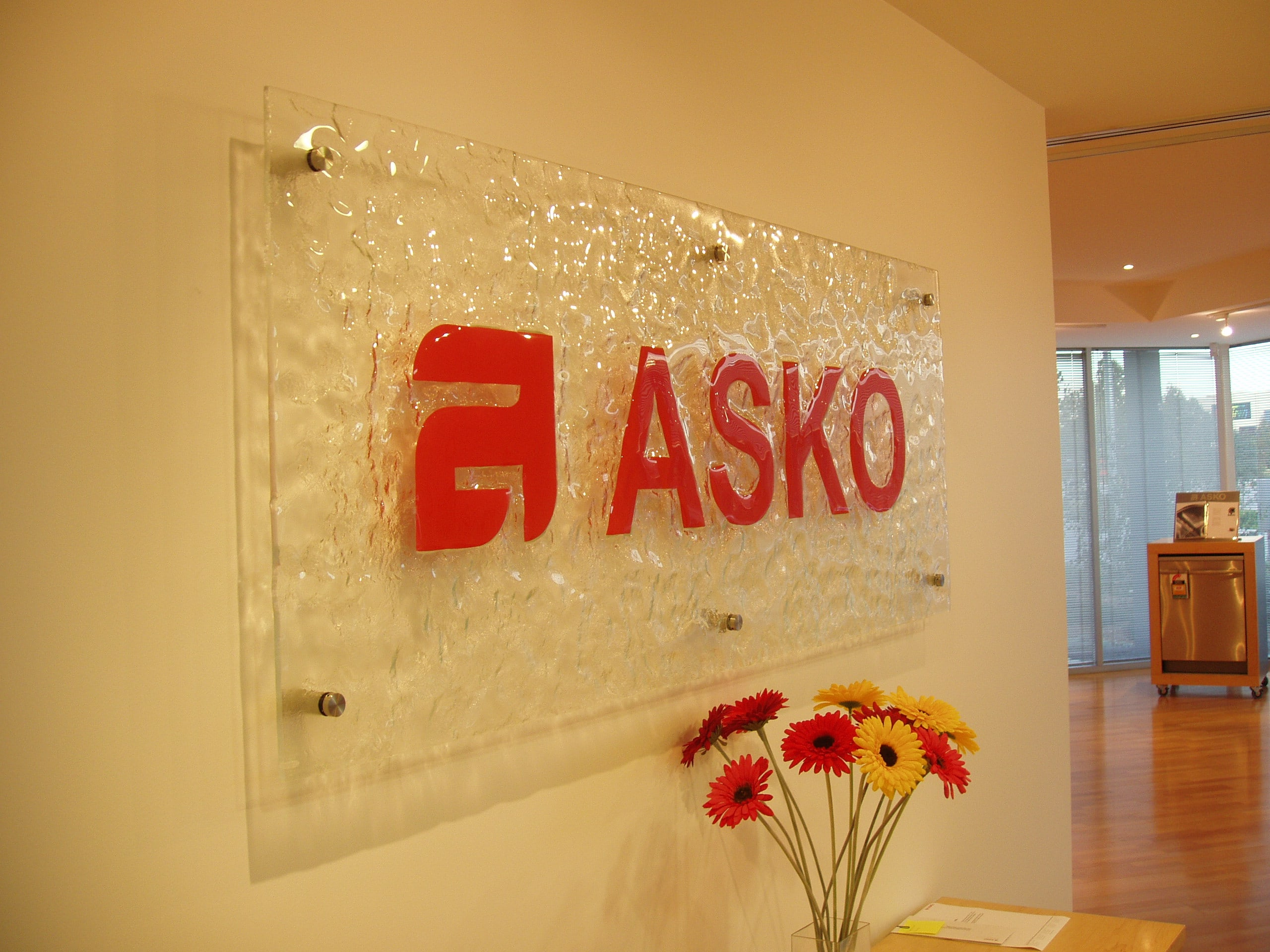 Reception ASKO Sign
