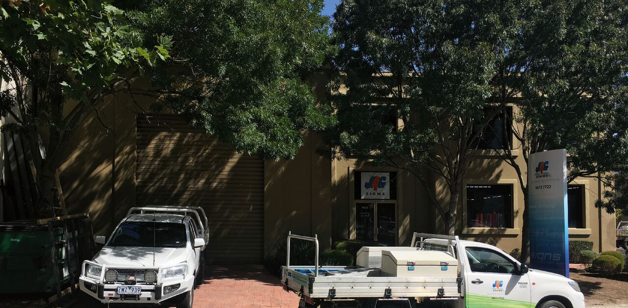 Jag Signs Factory Signwriters melbourne with Vehicles and Signage