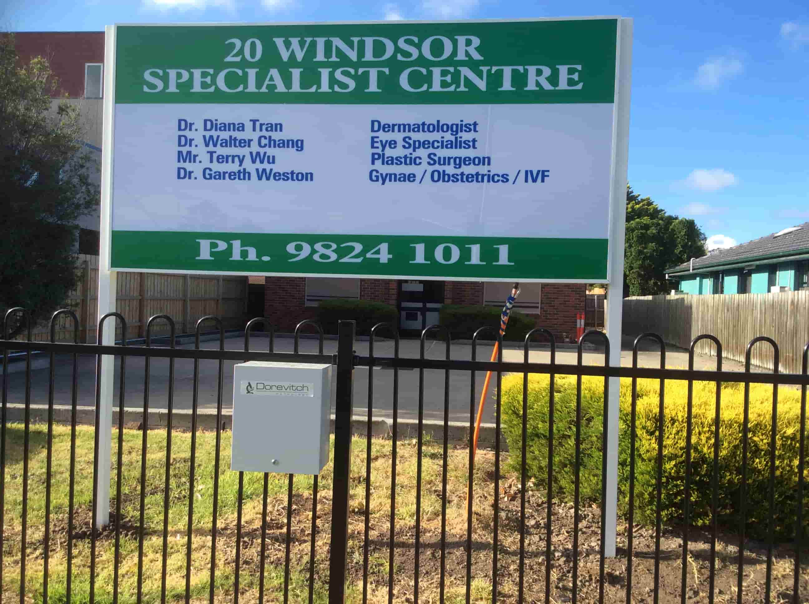 Garden Signs Melbourne specialist Center Windsor