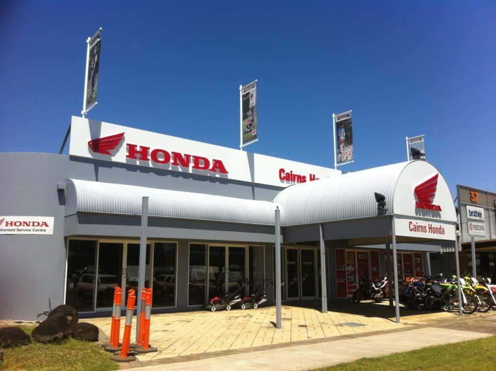 building signage Honda signage in Melbourne