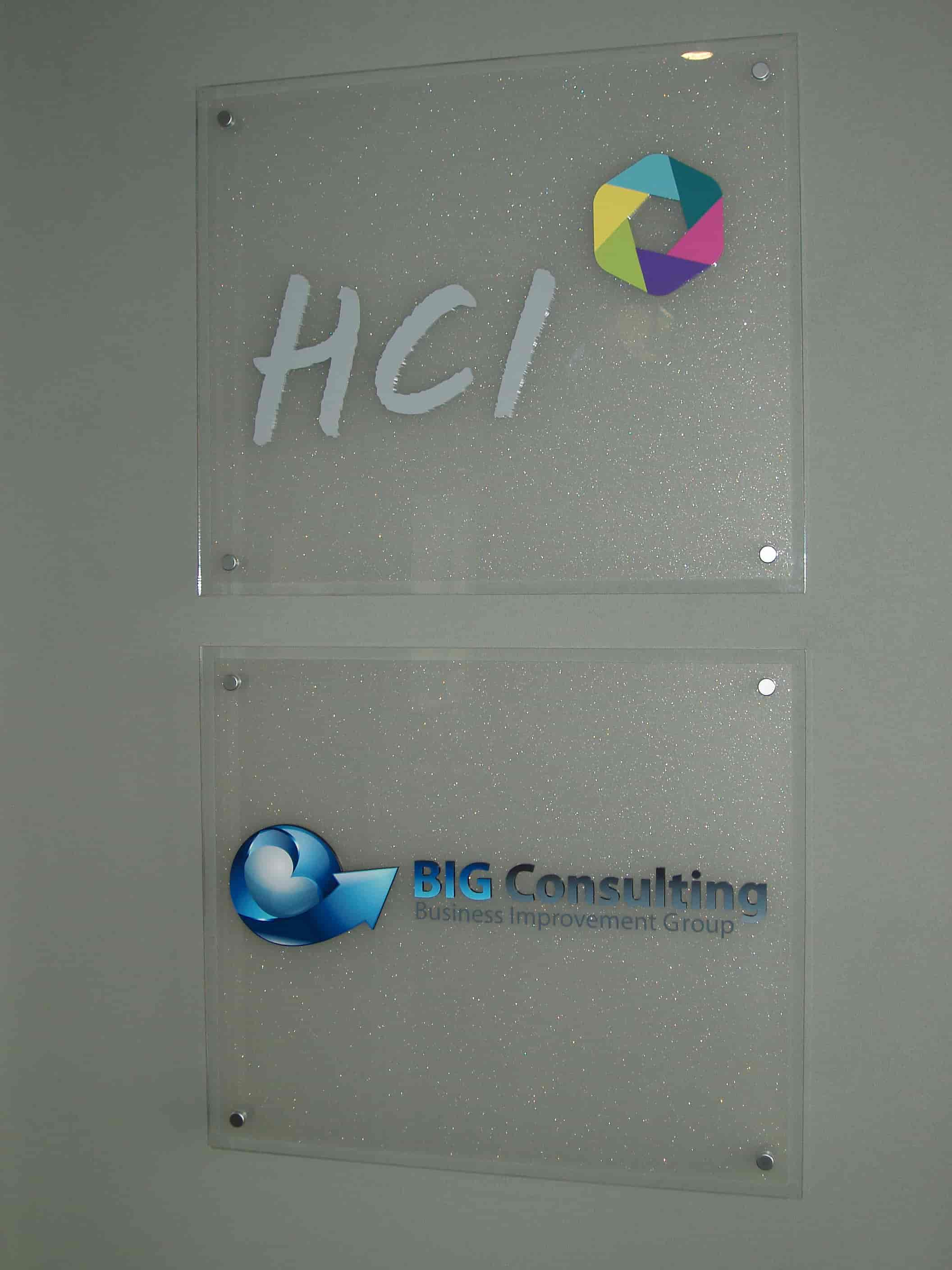 Reception Signage HCl signwriters Melbourne