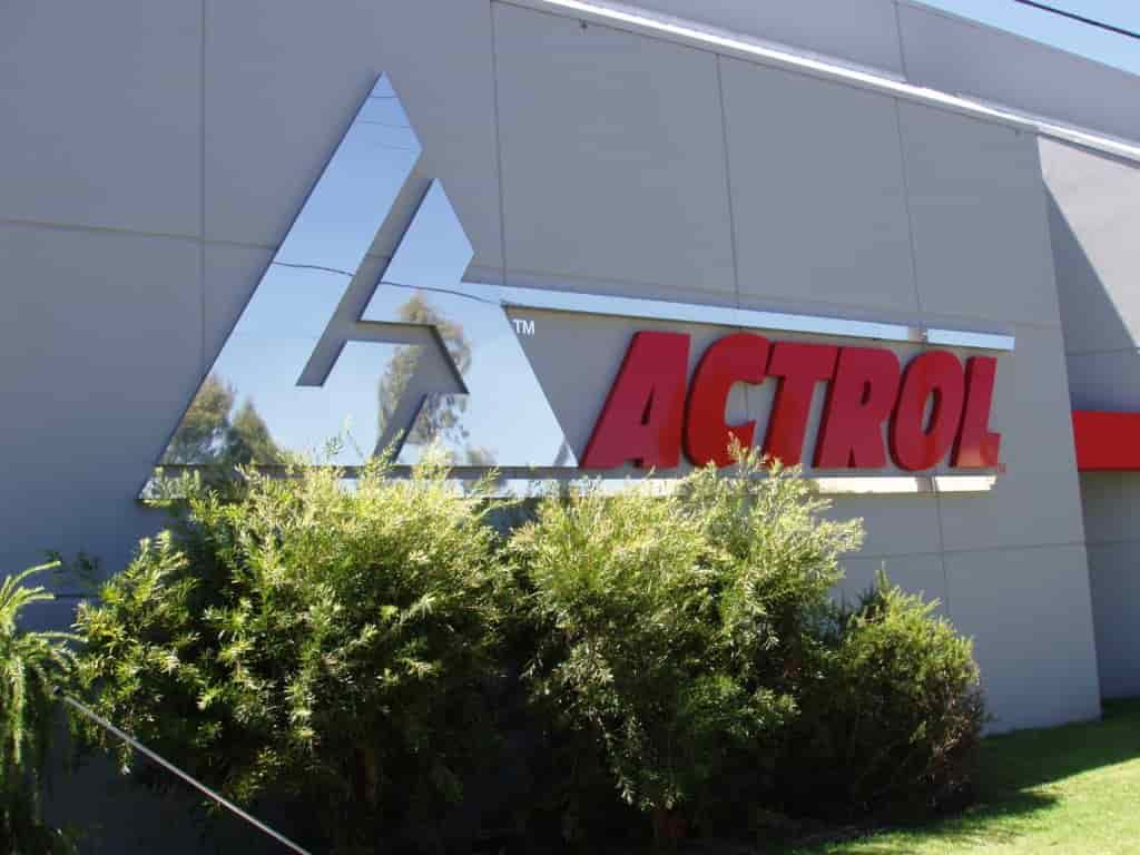 building signage for ACTROL