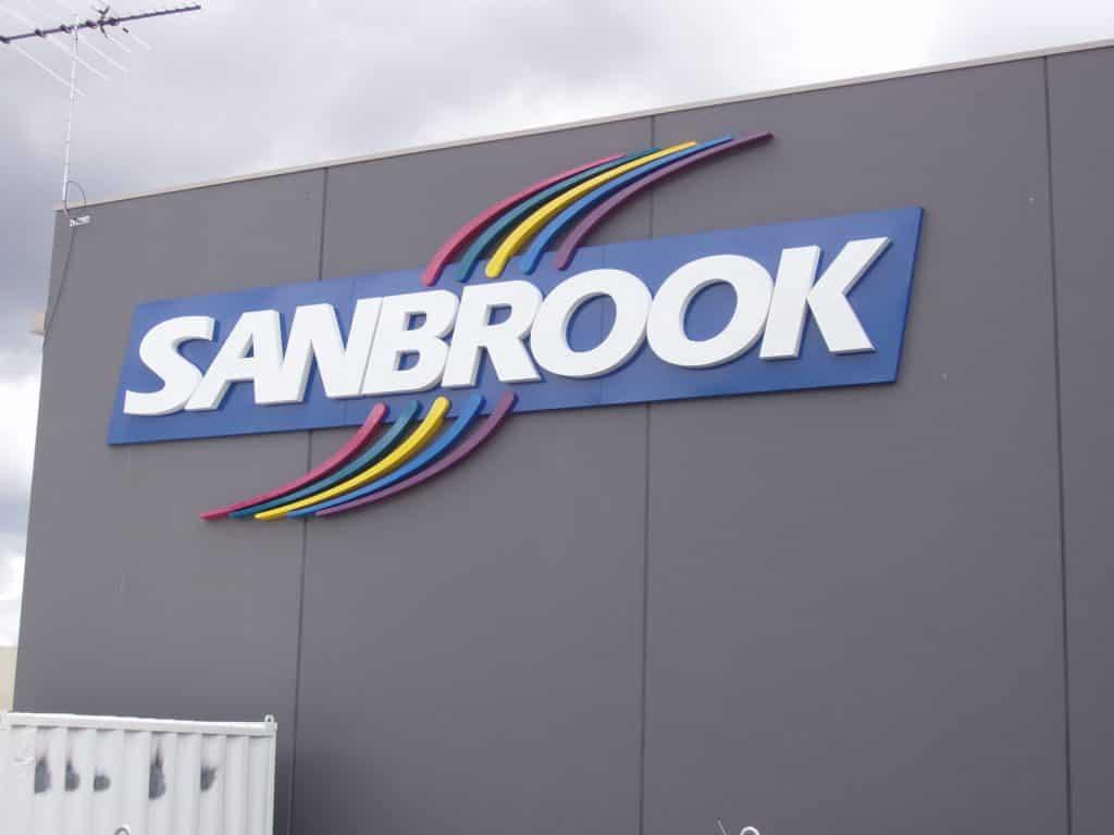 building signage Sanbrook signage