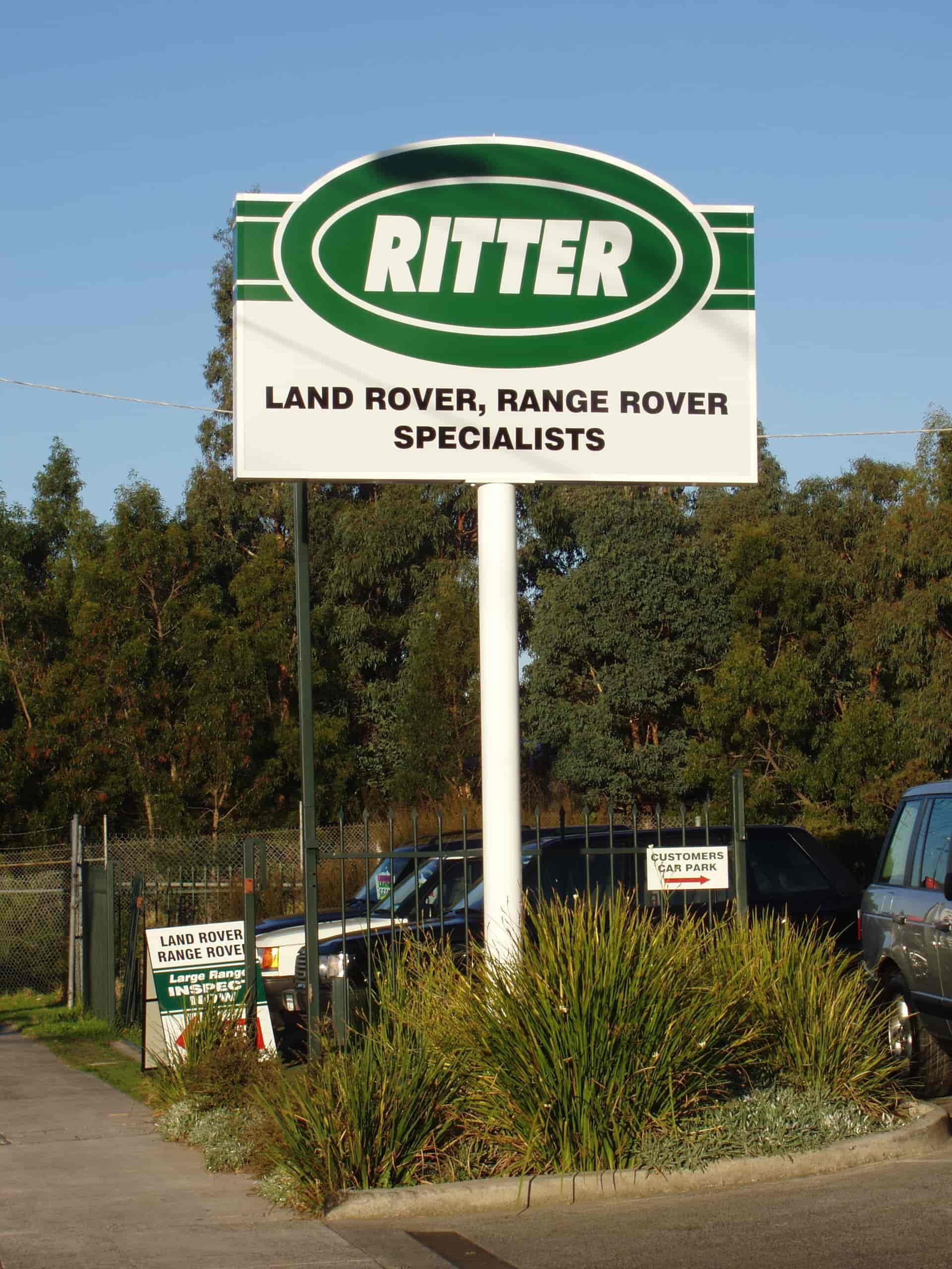 ritter pylon signs
