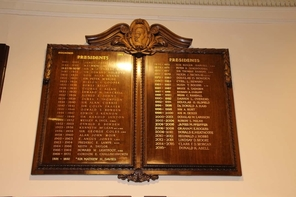 Honour Boards president Club