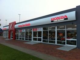 building signage HONDA