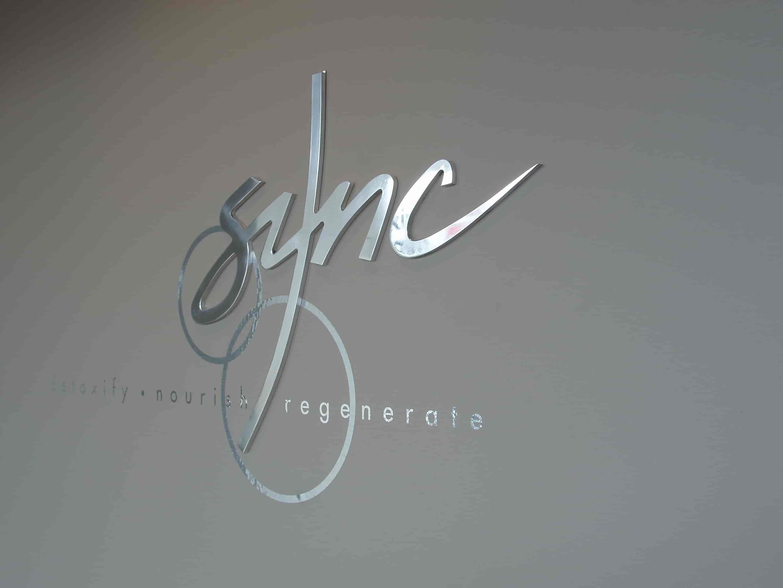 Reception Signage sync