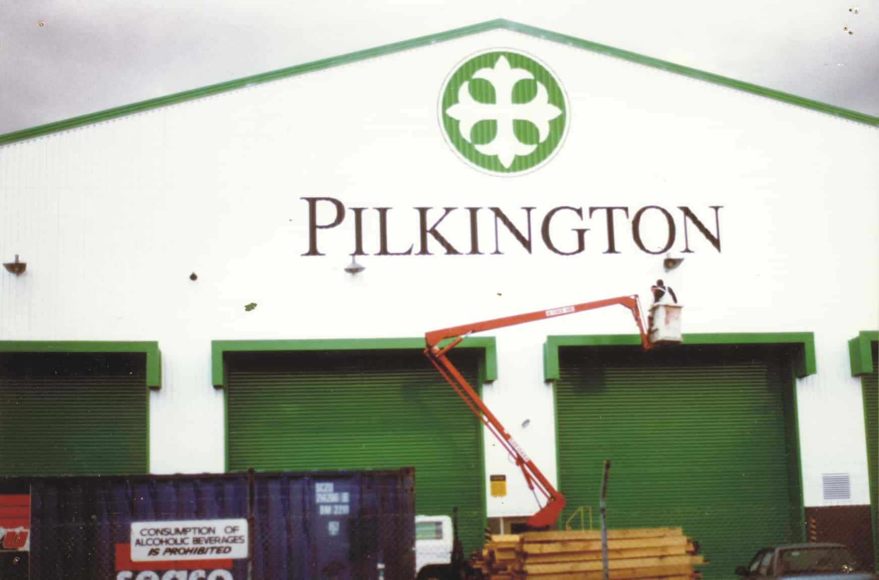 signage melbourne pilkington