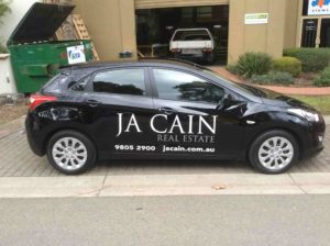 Vehicle signage jagsigns melbourne