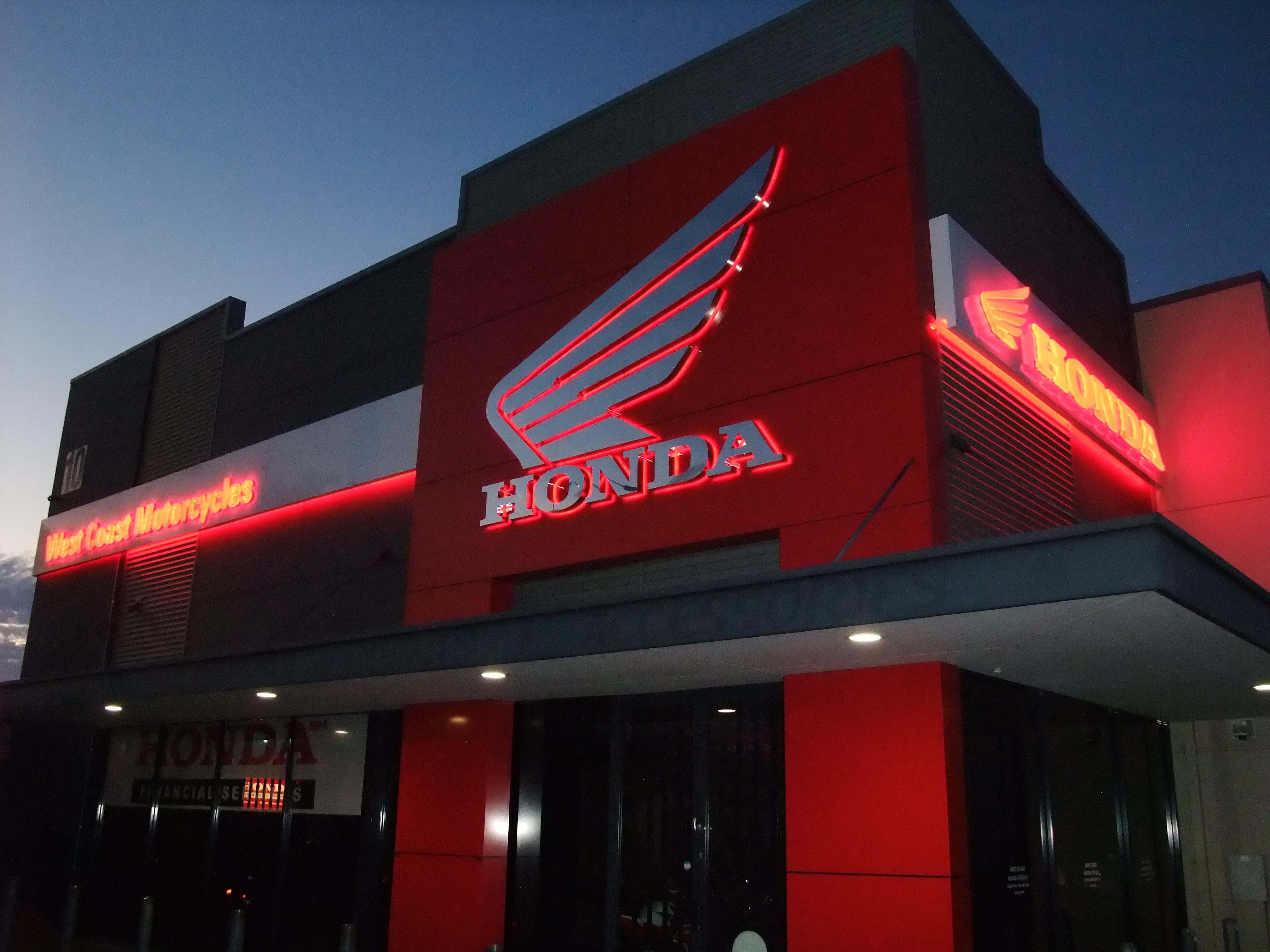 Illuminated Signage Honda