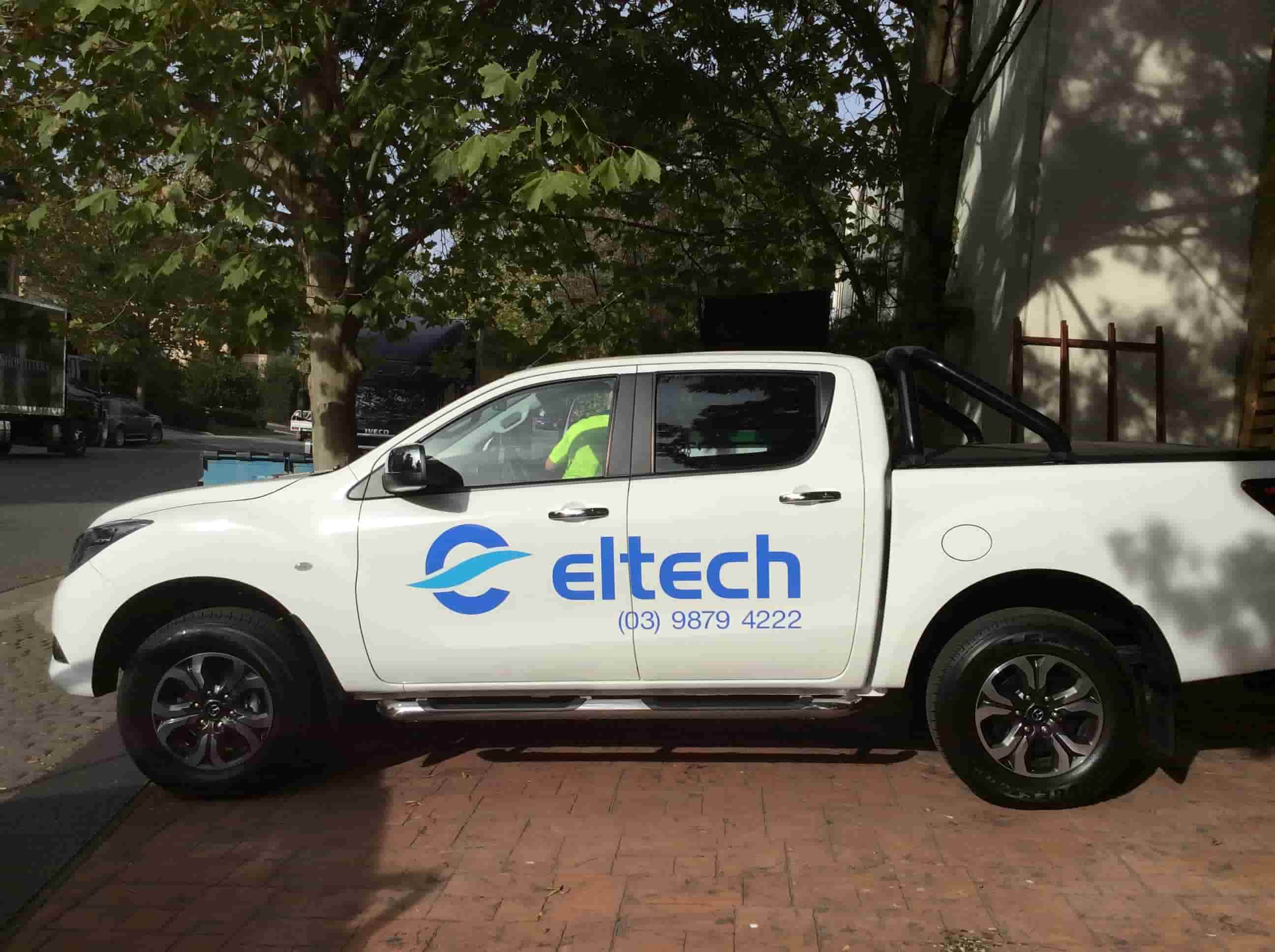 Vehicle signage eltech