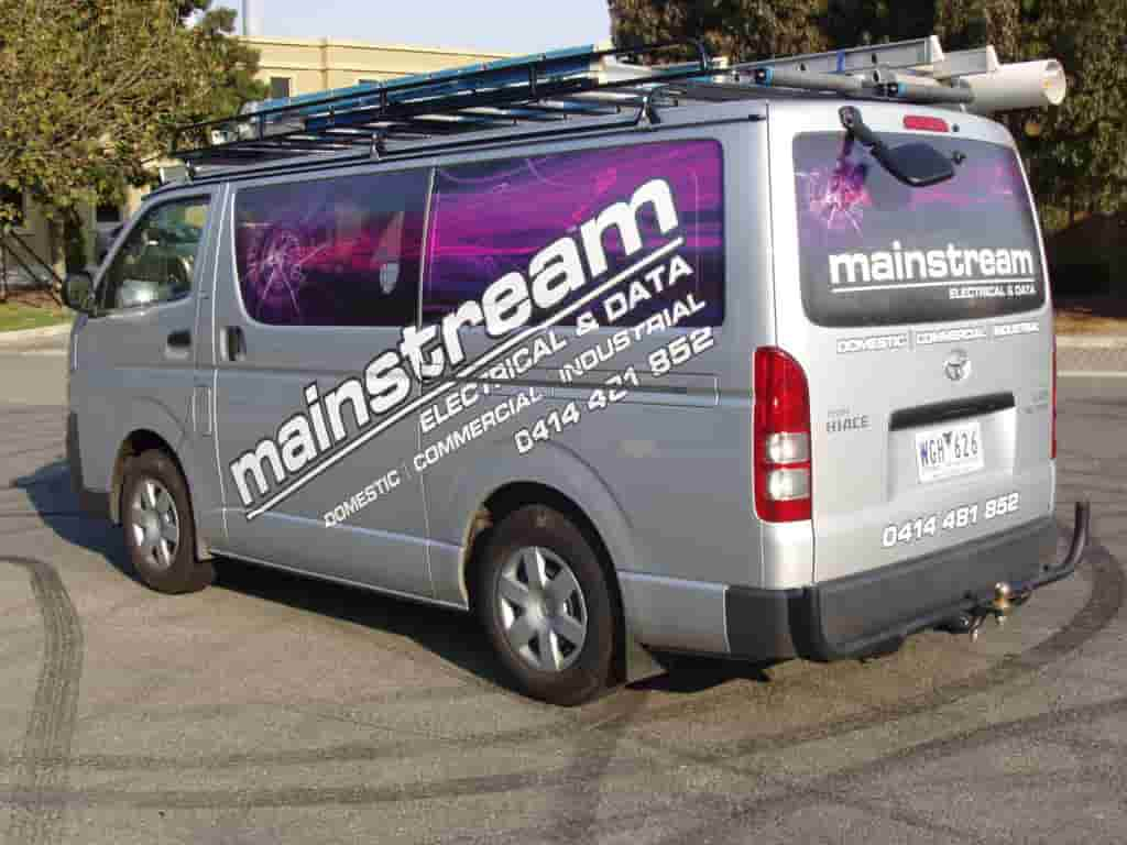 Vehicle signage Melbourne signwriters