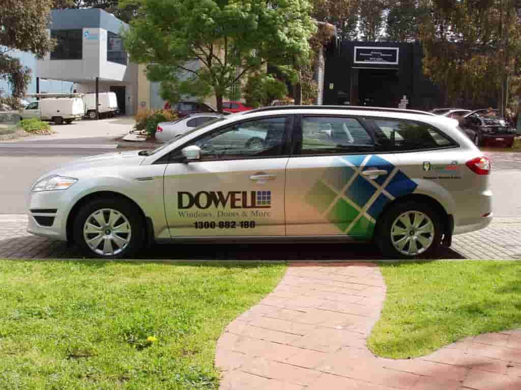 dowell vehicle signage