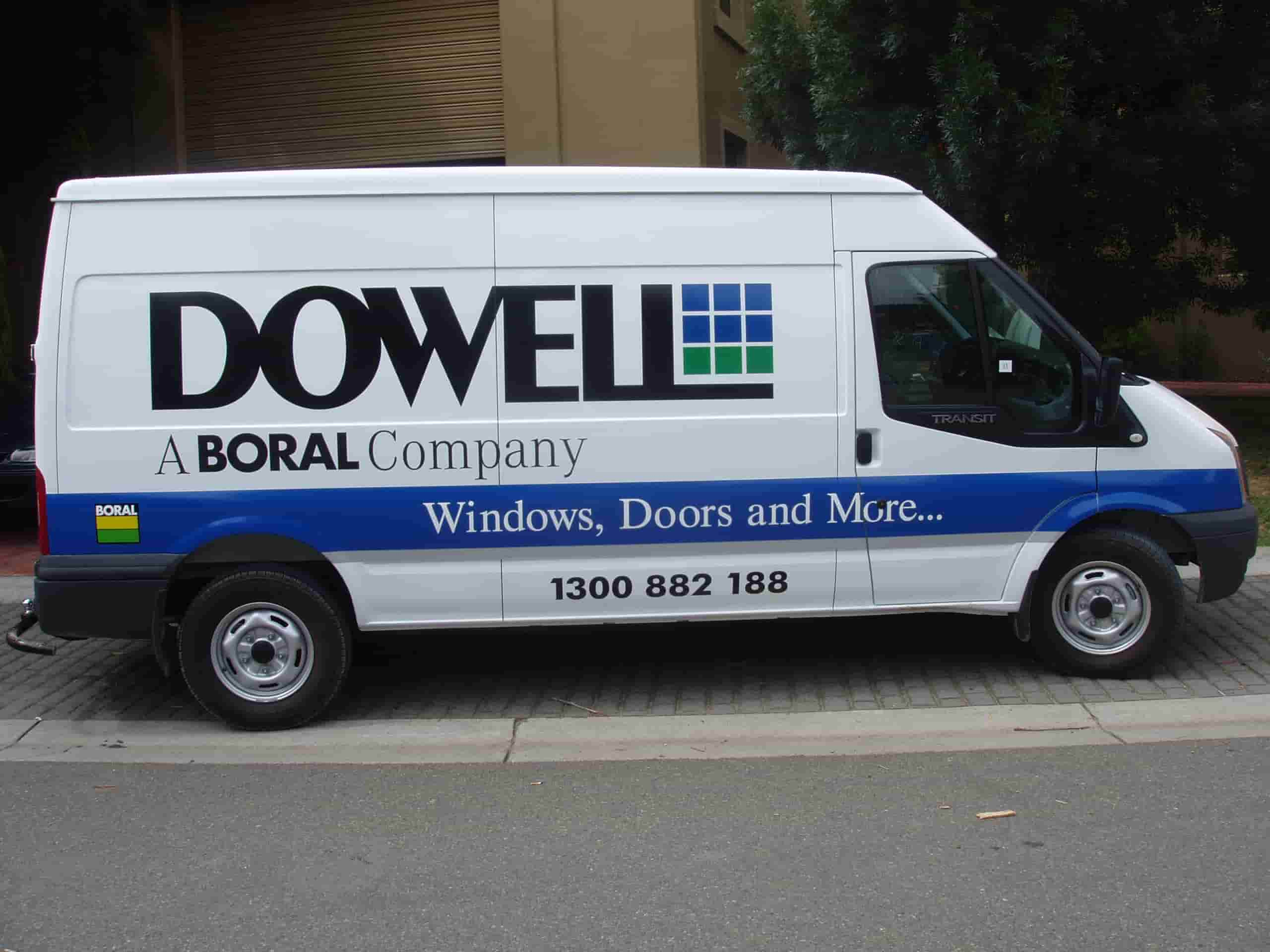 Vehicle signage dowell