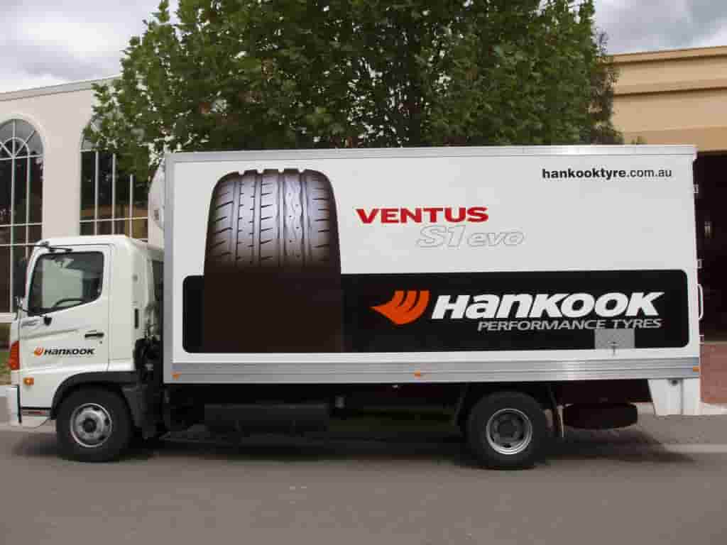 jagsigns Vehicle signage ventus hankook