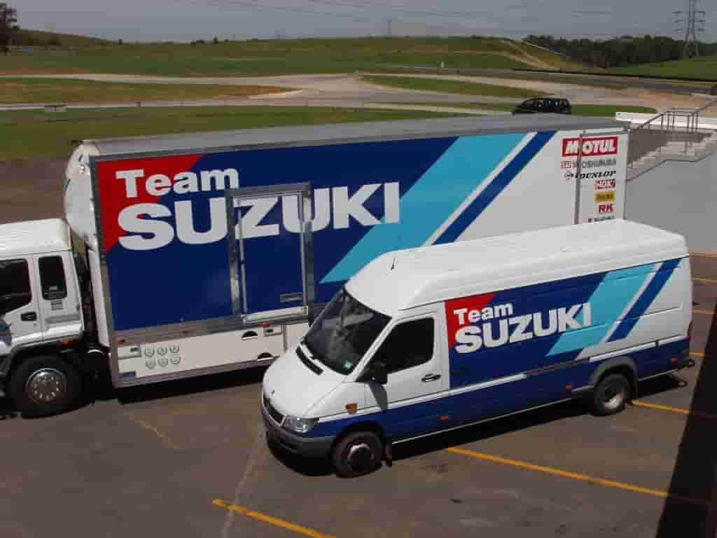 Vehicle signage suzuki fleet