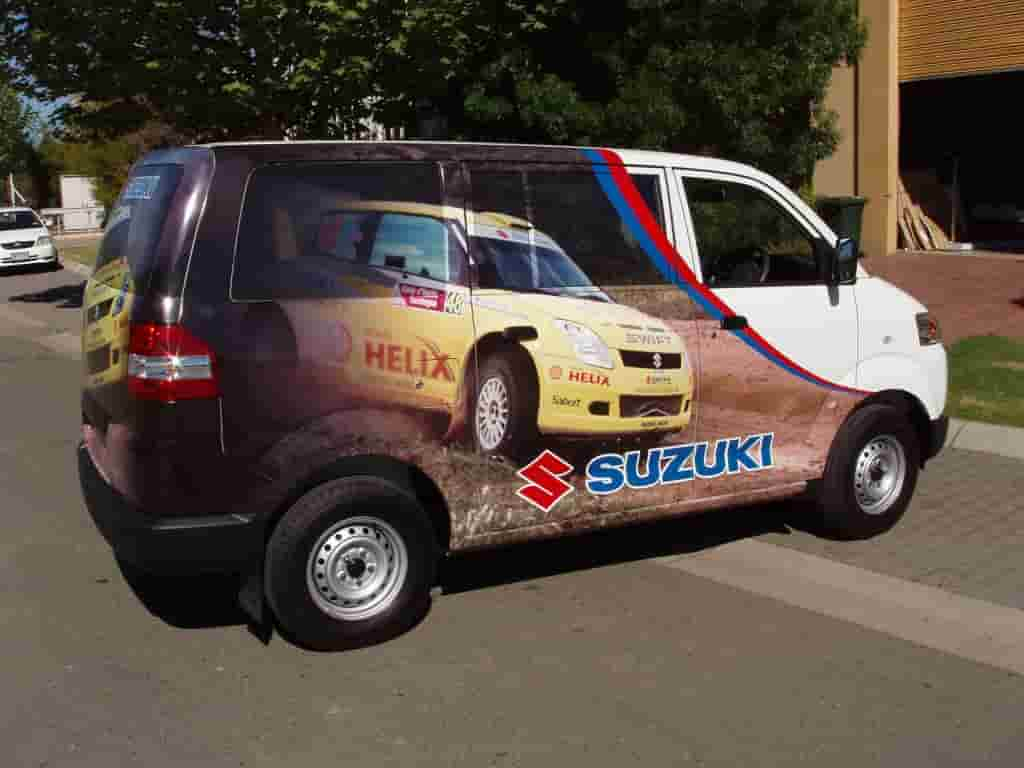 Vehicle signage suzuki