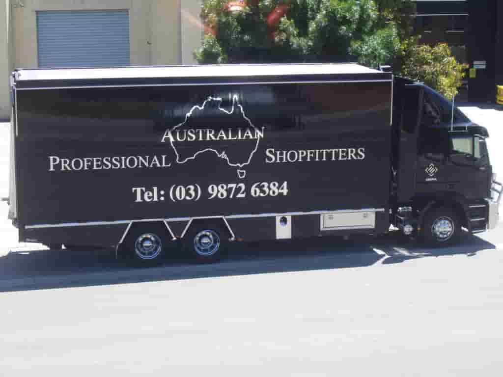 Vehicle signage Professional shop fitter